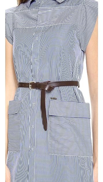 DSQUARED2 Sleeveless Cotton Dress