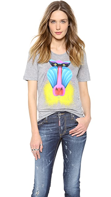 DSQUARED2 Short Sleeve Baboon Tee