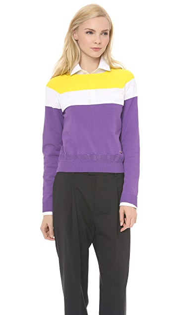 DSQUARED2 Colorblock Sweater