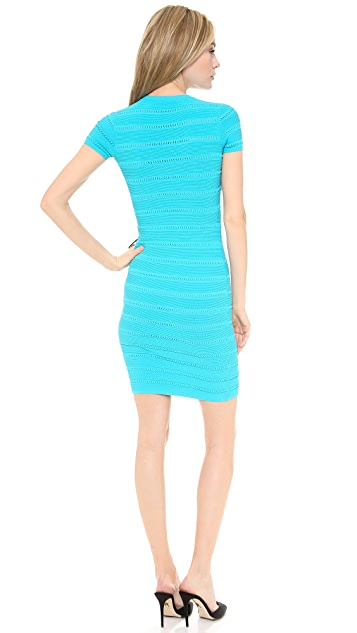 DSQUARED2 Short Sleeve Knit Dress