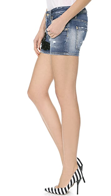 DSQUARED2 Lola Denim Shorts