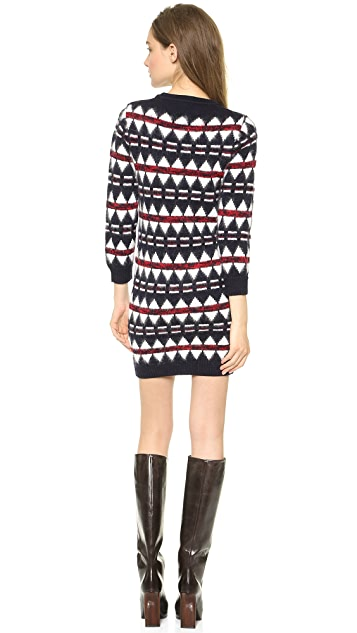 DSQUARED2 Jacquard Sweater Dress