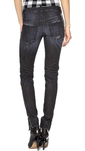 DSQUARED2 Mid Waist Super Slim Jeans