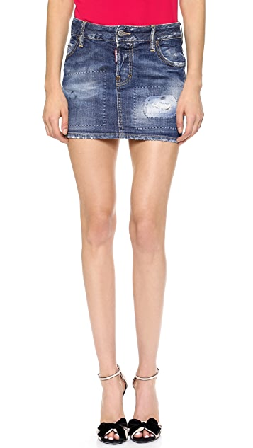 DSQUARED2 Denim Miniskirt