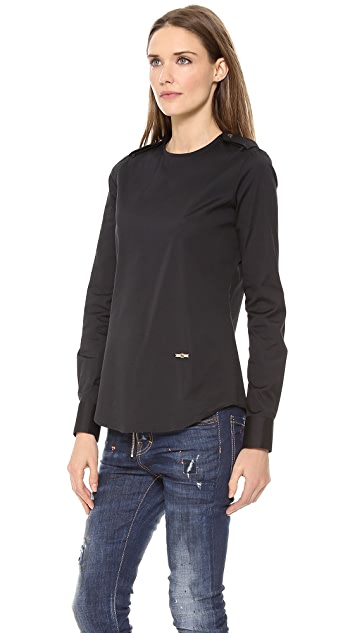 DSQUARED2 Long Sleeve Blouse