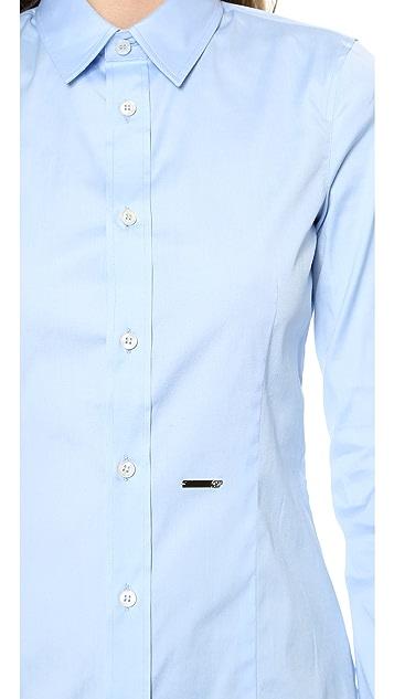 DSQUARED2 Button Classic Shirt
