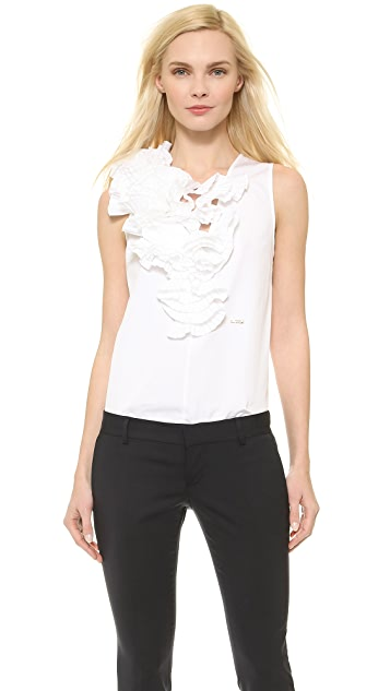 DSQUARED2 Shelly Flower Top