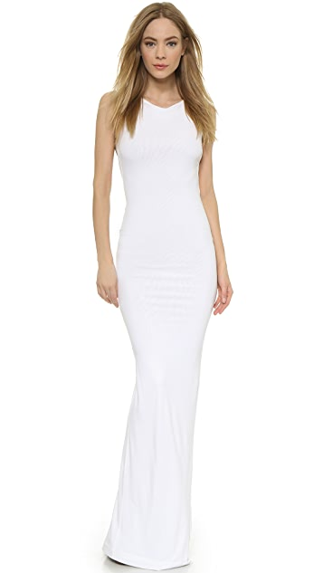 DSQUARED2 Sleeveless Jersey Gown