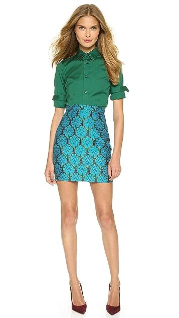 DSQUARED2 Fantasy Jacquard Miniskirt