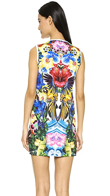 DSQUARED2 Exotic Jungle Dress