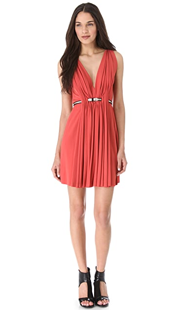 David Szeto Gres Sleeveless Dress