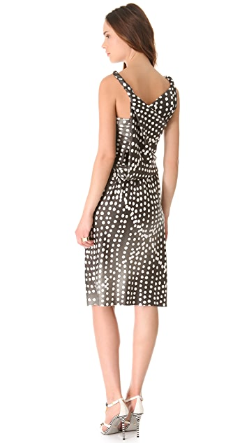 David Szeto Sahara Dotted Dress