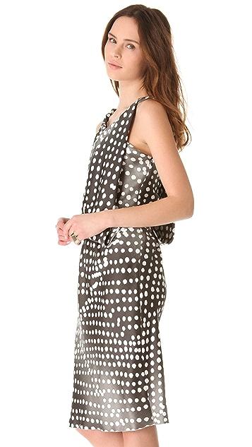 David Szeto Sahara Dotted Dress