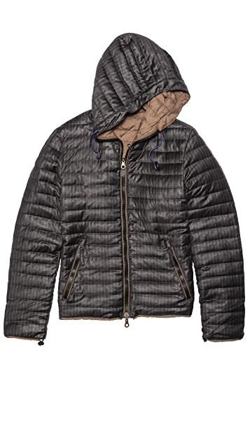 Duvetica Linco-Erre Reversible Puffer Jacket
