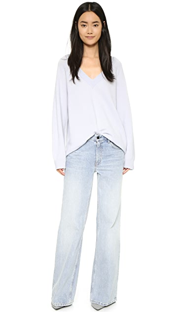 Denim x  Alexander Wang Rave Wide Leg Jeans