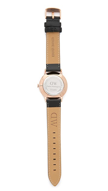 Daniel Wellington Dapper Sheffield 38mm Leather Band Watch