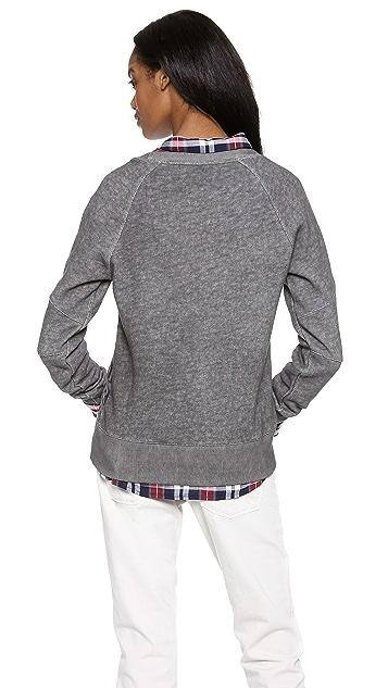 EACH x OTHER Robert Montgomery Panel Sweatshirt