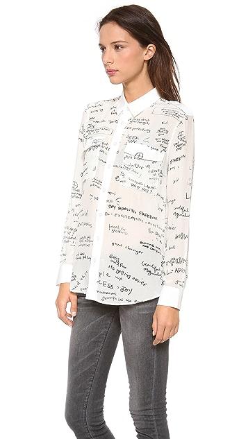 EACH x OTHER Blair Chivers Print Shirt
