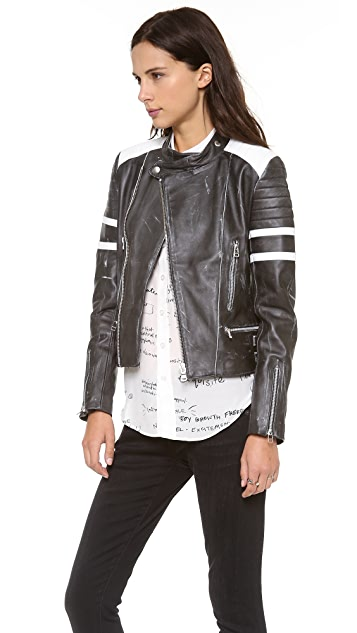 EACH x OTHER Robert Montgomery Racer Jacket