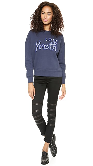 EACH x OTHER Robert Montgomery Signs x Lost Youth Sweatshirt