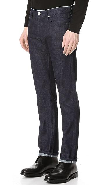 Earnest Sewn Allen Slim Straight Jeans