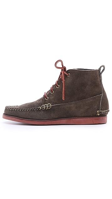 Eastland Made In Maine Seneca USA Camp Moc Boots