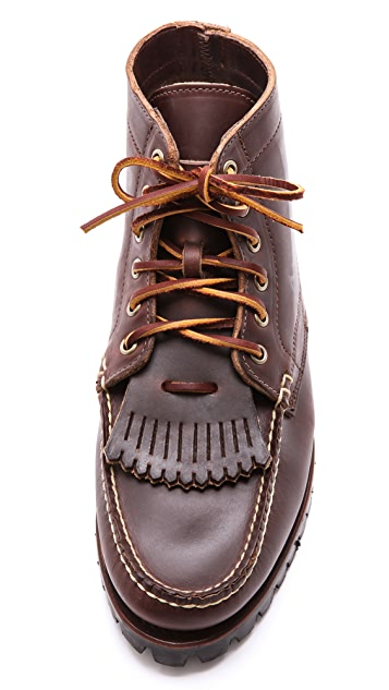 Eastland Made In Maine Belfast USA Boots with Removable Kiltie