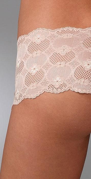 Eberjey Bluebird Isabella Lace Boy Shorts