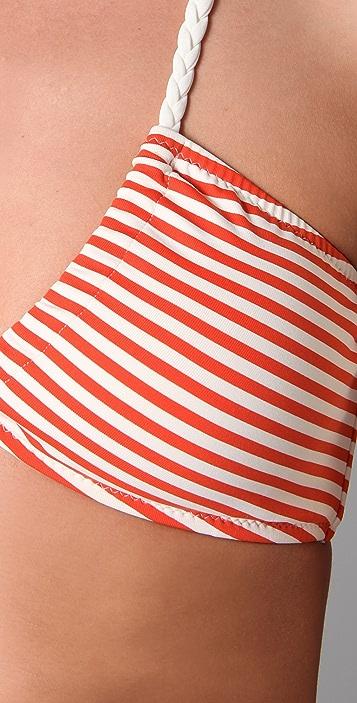 Eberjey Striped First Mate Phoebe Bikini Top