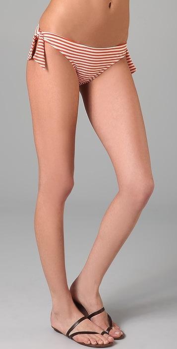 Eberjey Striped First Mate Camilla Bikini Bottoms