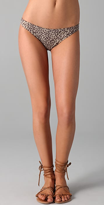 Eberjey Valentina Cheetah Bikini Bottoms