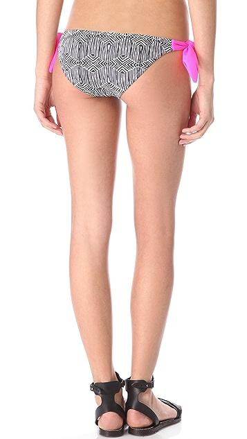Eberjey Geometric Ursula Bikini Bottoms