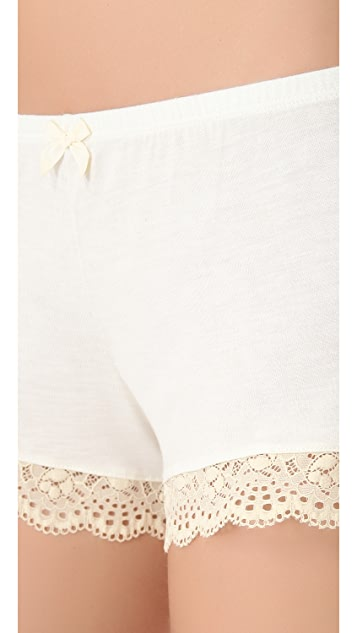 Eberjey Crochet Dreams Shorts