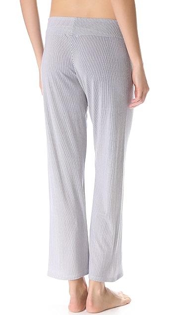 Eberjey Cottage Stripes Pants