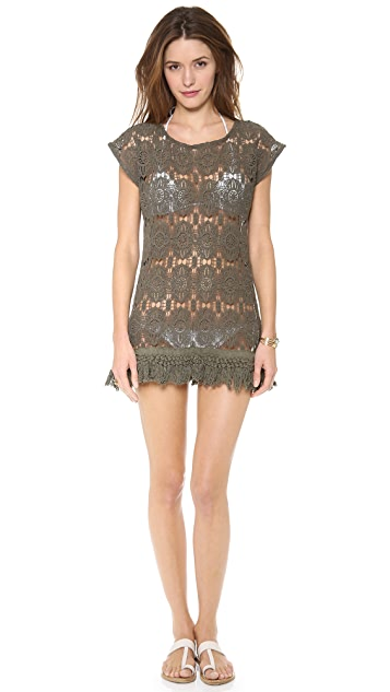 Eberjey Sun Goddess Phoenix Dress