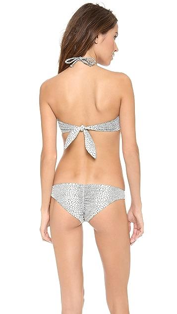 Eberjey Skin Deep Lola Bikini Top
