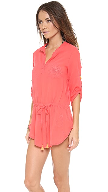 Eberjey Summer of Love Parker Cover Up