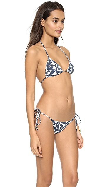 Eberjey Hidden Cove Bikini Top
