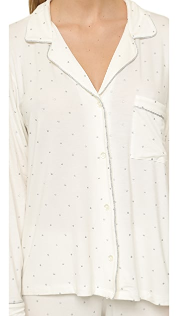 Eberjey Metallic Dots PJ Set