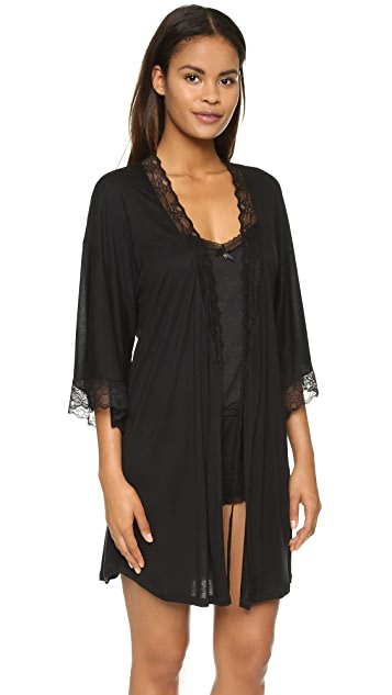 Eberjey Georgette Short Robe