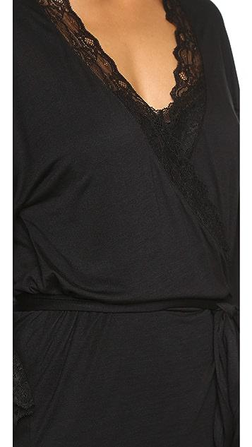 Eberjey Georgette Short Robe