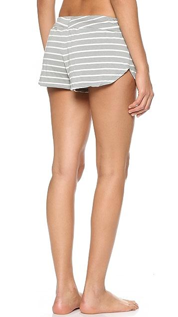 Eberjey Lounge Stripes Shorts