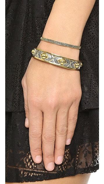 Eddie Borgo Pave ID Toggle Bracelet