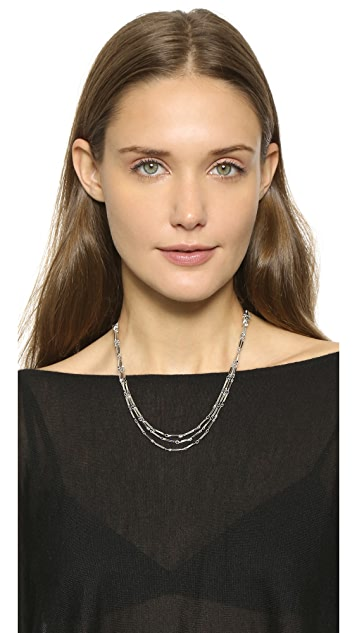 Eddie Borgo Peaked Chain Necklace