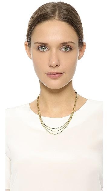 Eddie Borgo Peaked Chain Necklace