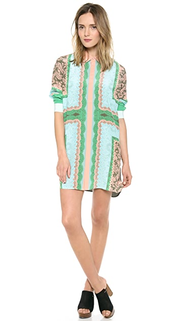 Emma Cook Silk Shirtdress