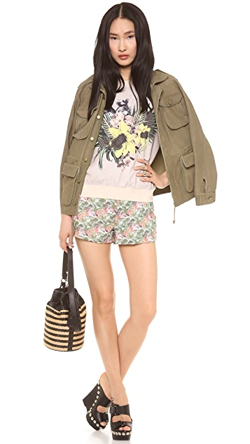 Emma Cook Floral Sweatshirt
