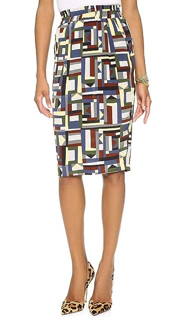 Emma Cook Silk CDC Skirt