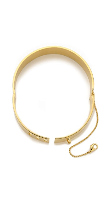 Eddie Borgo Safety Chain Choker