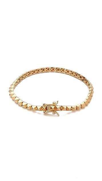 Eddie Borgo Pyramid Tennis Bracelet